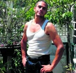 Mohamed Lahouaiej Bouhlel  auteur de l'attentat terroriste de Nice chez un ami. Eté 2015