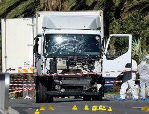 Le camion loué par  Lahouaij pour perrpètrer l'attentat de Nice