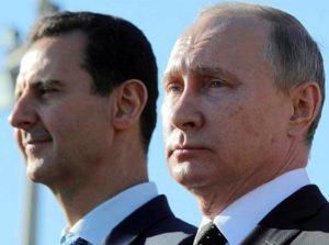 Vladimir Poutine et Bachar el Assad