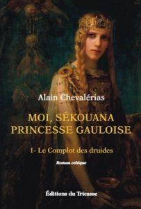 couverture roman Moi, Sékouana princesse Gauloise