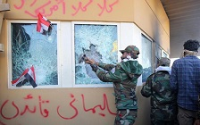 Milices iakiennes, Hezbollah, Assaeb el Haqq attaquent l'ambassade américaine en Irak